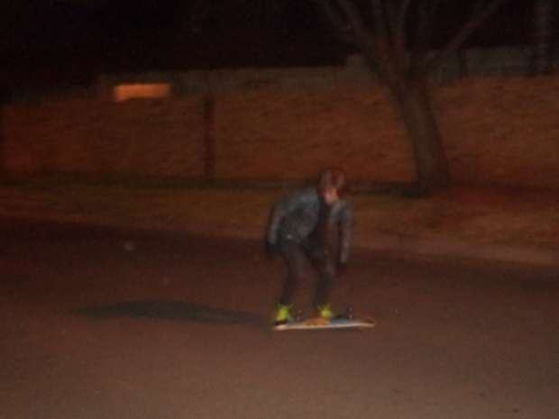 night skateboarding - svc
