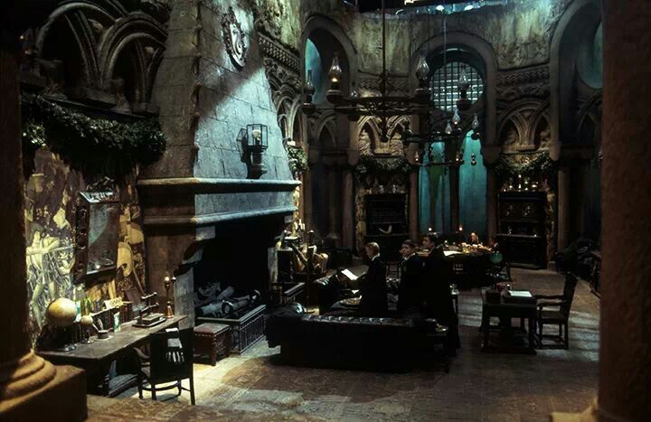 Harry Potter Home Inspiration Slytherin Simple Vegan