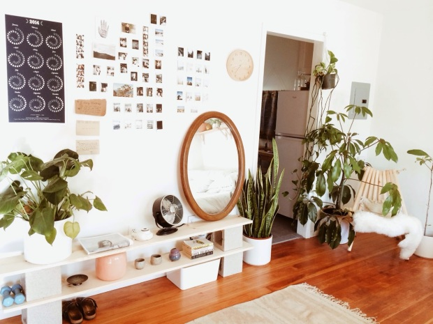 bohemian  home interior